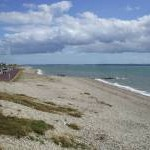 The beach at Lee on Solent