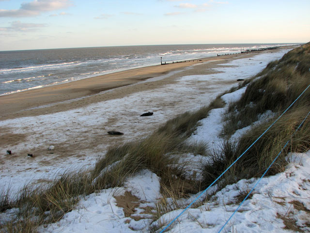 Horsey Beach - Norfolk