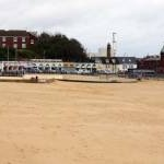 The beach at Gorleston-on-Sea