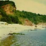 Oddicombe Beach Torquay in 1987