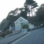 Toilet block, Meadfoot Beach