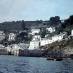 Breakwater arms at Polperro 1969