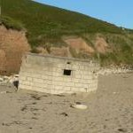 WW2 pillbox, Praa Sands