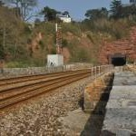 Teignbridge : Railway & Tunnel