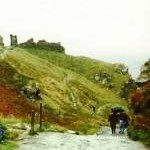 Footpath to Tintagel Castle (1991)