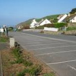 Car park at Portwrinkle