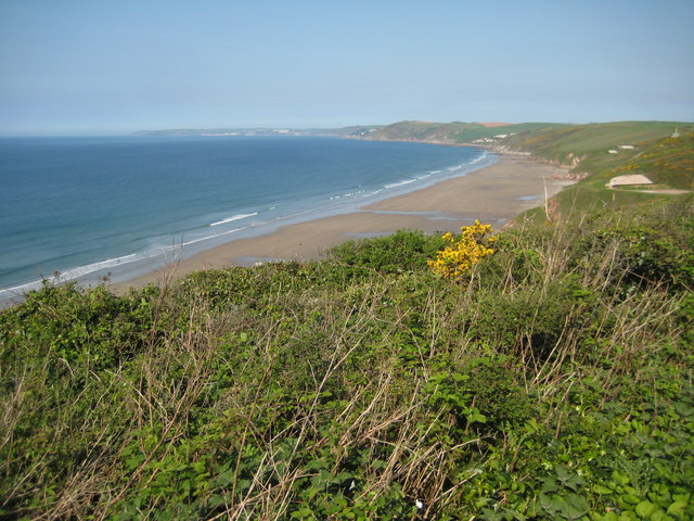 Tregantle Cliff Beach (Whitsand Bay) - Cornwall