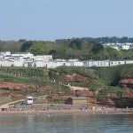 Devon Cliffs Holiday Park above Sandy Bay