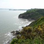 Part of the coast between Monkstone and Tenby