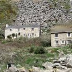 Cottages at Lamorna Cove