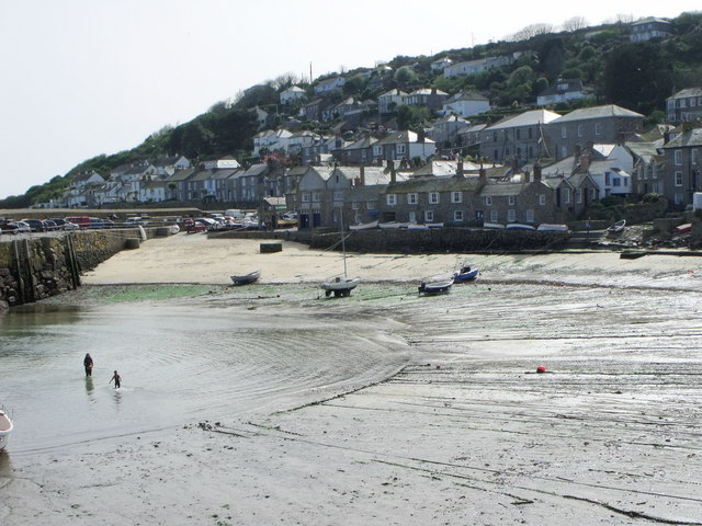 Mousehole Beach - Cornwall