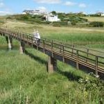 Footbridge near Thurlestone Sand
