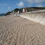Sea defences at Torcross