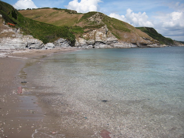 Scabbacombe Sands Beach - Devon