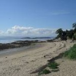 The beach at Aberdour
