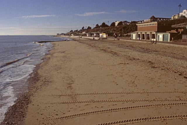 Clacton On Sea Sandy Beach