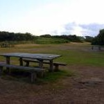 Picnic area by Par Beach