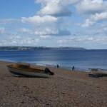 Beached boats at Torcross