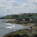 Kinghorn from the coastal path to the NE