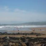 Coastal East Lothian : Doing The Strand at Peffer Sands