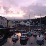 Laxey inner harbour