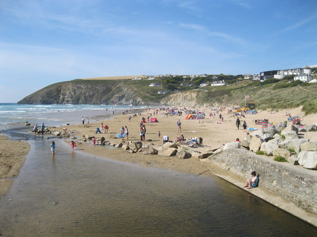 Mawgan Porth Beach - Cornwall