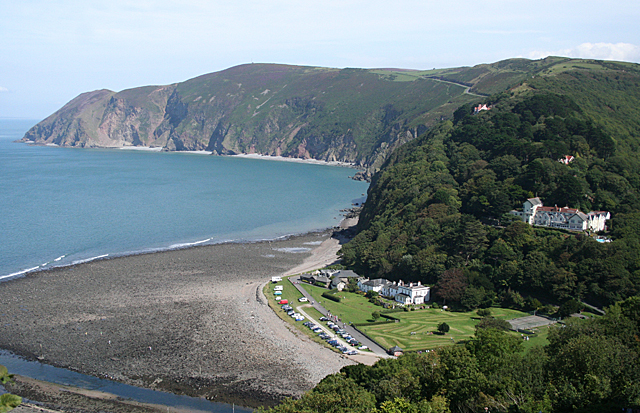 Lynmouth Beach - Devon