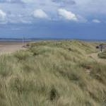 Sand dunes at Talacre Beach
