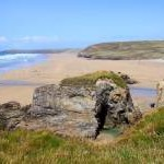The Natural Arches on Perran Beach