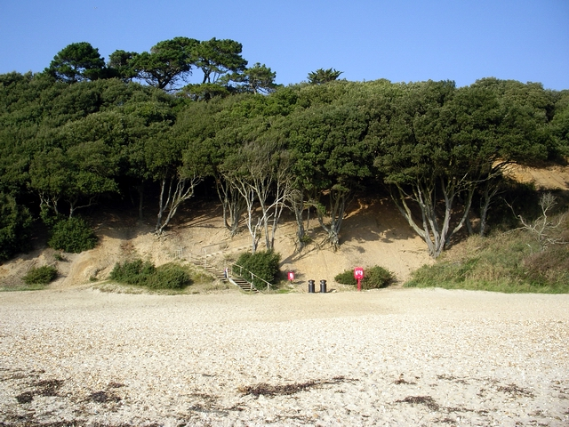 Highcliffe Castle Beach (Christchurch) - Dorset