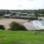 The beaches at Aberporth