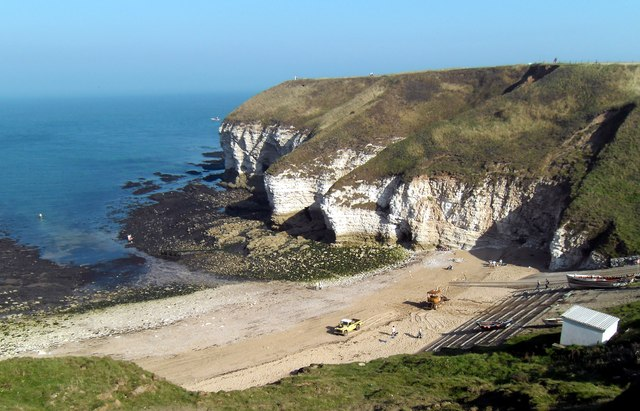 North Landing (Flamborough) Beach - Yorkshire