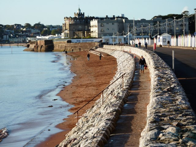 Preston Sands (Paignton) Beach - Devon