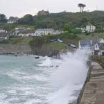High water at Coverack