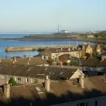 Fisherrow Harbour from the Newhailes estate