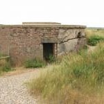 WWII pillbox at Cley Eye