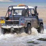 Land Rover at Abersoch