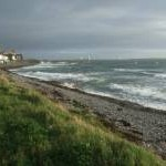 A blustery Christmas Day in Castletown