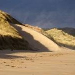 Dune formation, Ravensheugh Sands
