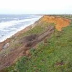 Erosion at Hordle Cliffs