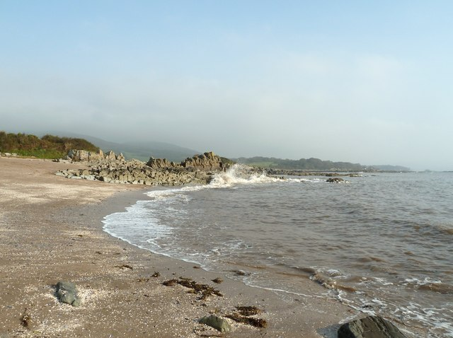 Mossyard Beach - Dumfries and Galloway