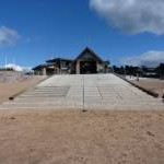 Exmouth Lifeboat Station - the launching ramp