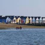 Beach Huts on Mudeford Spit
