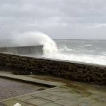 Stormy weather, Castletown, Isle of Man