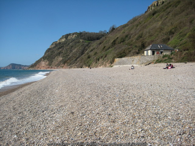 Weston Mouth Beach - Devon