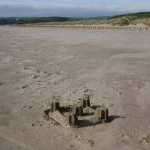 Sandcastle on Black Rock Sands
