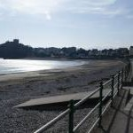 The prom and beach at Criccieth
