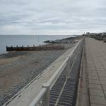 Part of Tywyn seafront