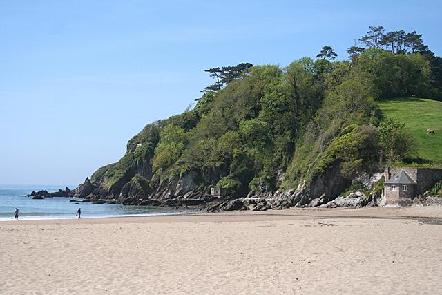 Meadowsfoot Beach Mothecombe Devon Uk Beach Guide