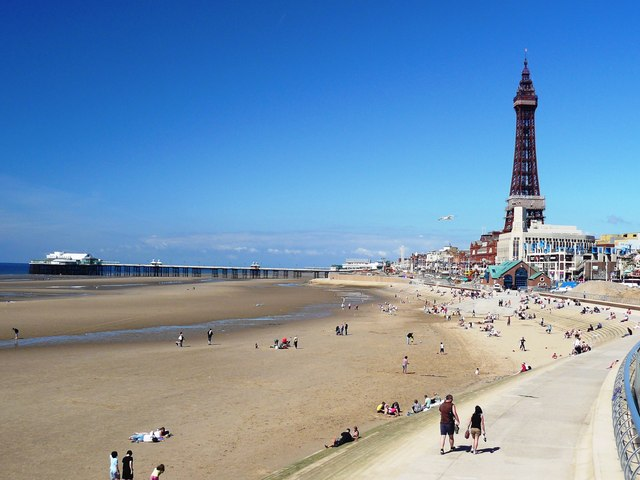 Blackpool North Beach - Lancashire